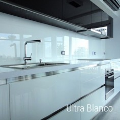 Ultra White 60x120| Ceramica Vidrio Color | Crisarte