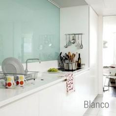 PQ White 13x26| Ceramica Vidrio Color | Crisarte