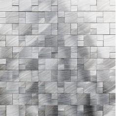 Skara Natural   30x27   Mosaico de Aluminio Misiones
