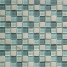 Indigo Satin   30x30   Mosaico Materiales Mixtos Misiones