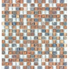 Mahal | 30x30 | Mosaico Materiales Mixtos Misiones