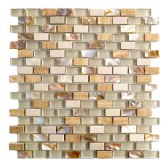Agra Amber | 30x30 | Mosaico Materiales Mixtos Misiones
