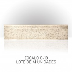 Lote de Zocalos - G10