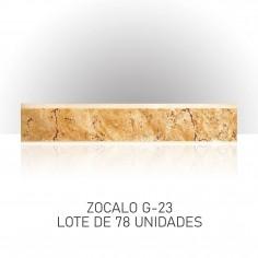 Lote de Zocalos - G23