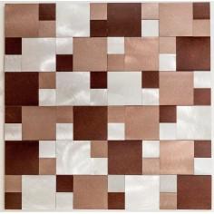 SATER ALUM BEIGE - 30x30 cm - Misiones Deco