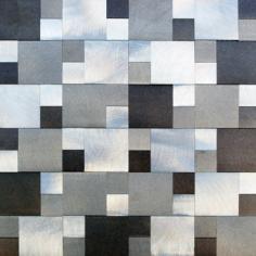 SATER ALUM GRAY - 30x30 cm - Misiones Deco