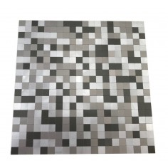 MINI ALUM GRAY - 30x30 cm - Misiones Deco