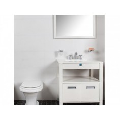 Blanco Satinado 20x60cm - 1era Calidad - Alberdi