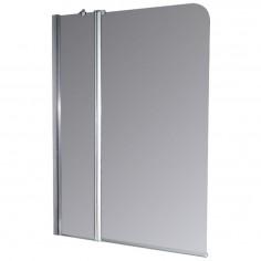 Mampara Transparente Cromado 102x140cm - Ferrum