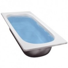 Bañera Chapa Blanca 170x70cm - Ferrum