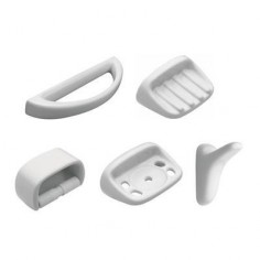 Accesorios de 5 Piezas Traful Blanco | Ferrum