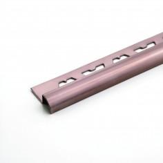 Guardacanto 9mm Inox Brillante - Rose Gold - Moldumet